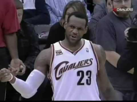 LeBron James plays better with no headband