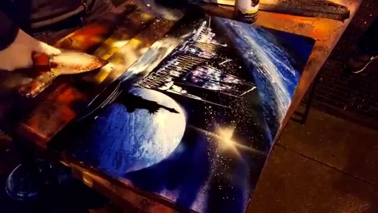 Spray Paint Street Art in New York City for my french ...