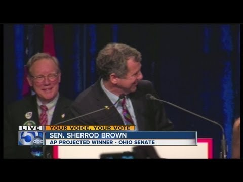 Sherrod Brown acceptance speech