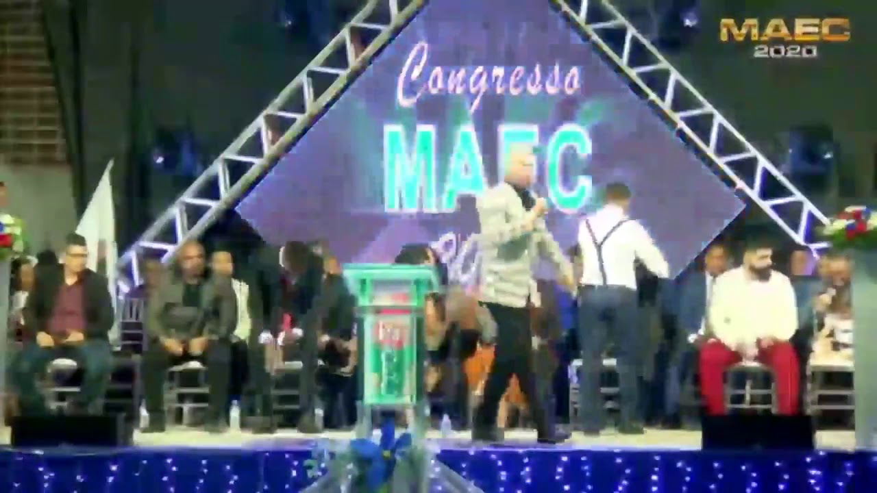 IMPACTANTE CONGRESSO MAEC - Pastor Junior Trovão