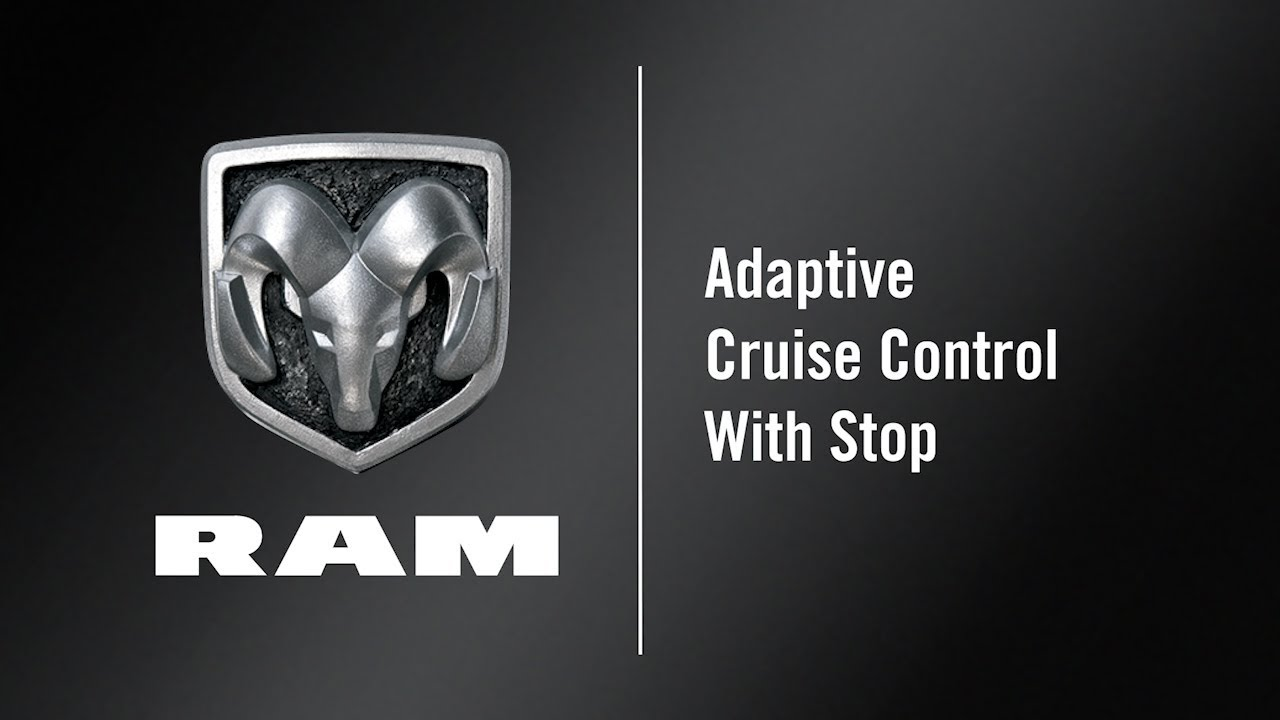 Adaptive Cruise Control With Stop | How To | 2020 Ram 2500-3500