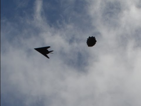 UFO Sightings Stealth Fighter Jet Engages...