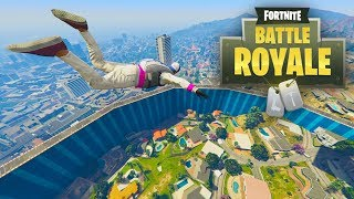FORTNITE BATTLE ROYALE EN GTA 5 ONLINE!