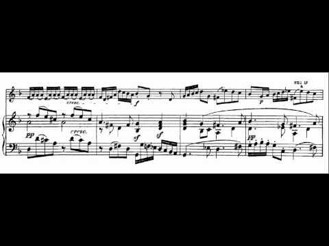 2.- Allegro. Sonata in F Major (HWV 30 - Händel) Score Animation