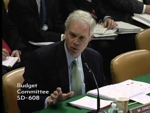 Senator Johnson: Opening Questions at Budget Committee Markup