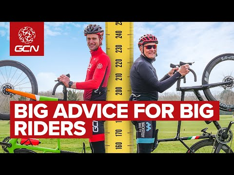 Cycling Tips For Bigger Riders   How To Make The Most Of Your Size On The Bike