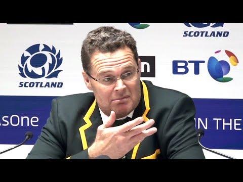 Scotland v South Africa - Rassie Erasmus, Jesse Kriel & Pieter-Steph du Toit Post Match Presser