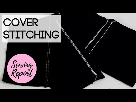 COVERSTITCH MACHINE STITCHES | Janome CoverPro 1000CPX from Pink Castle Fabrics | SEWING REPORT