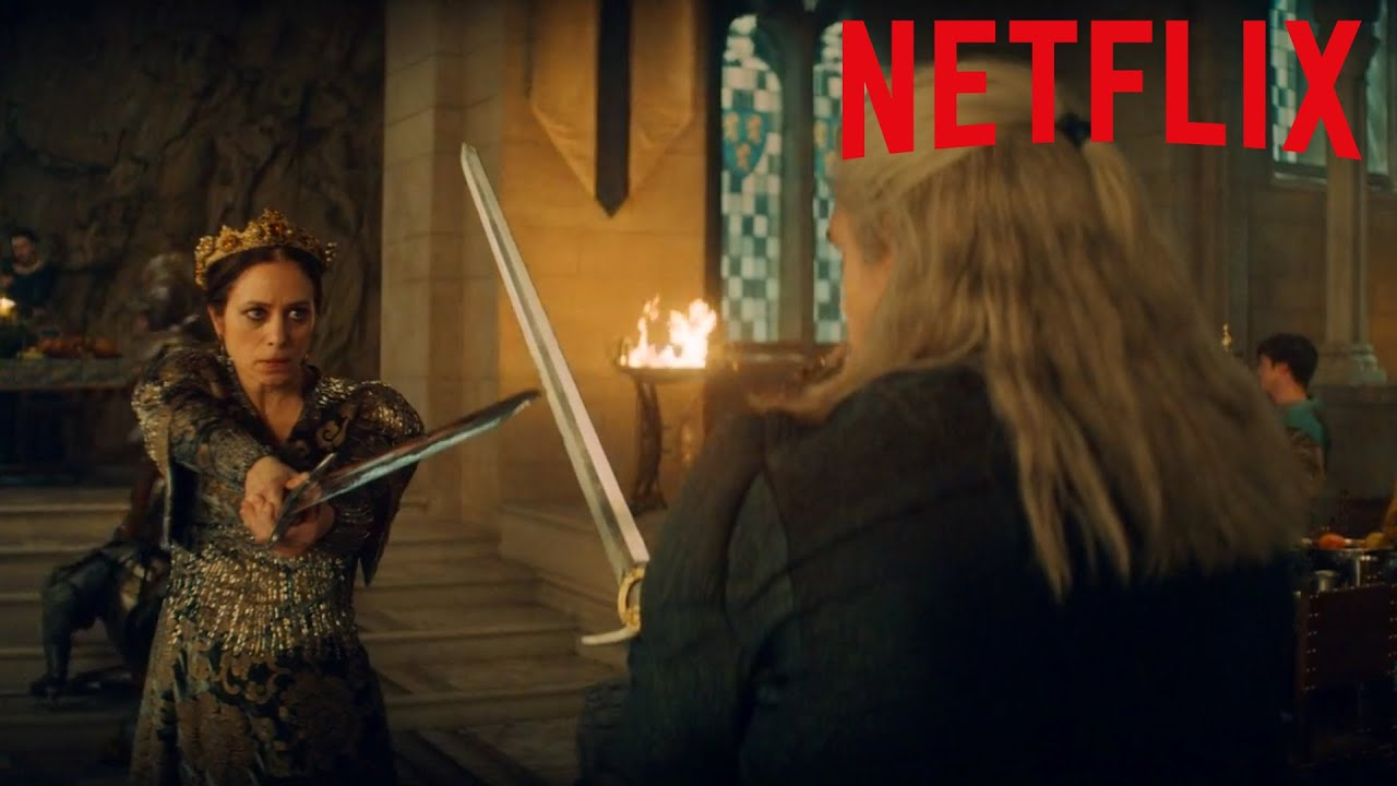 Download Castle Fight Scene - The Witcher Netflix