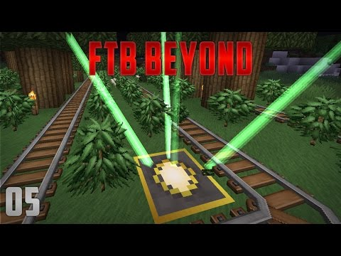 FTB Beyond EP5 Leaf Eating Generator + Actually Additions