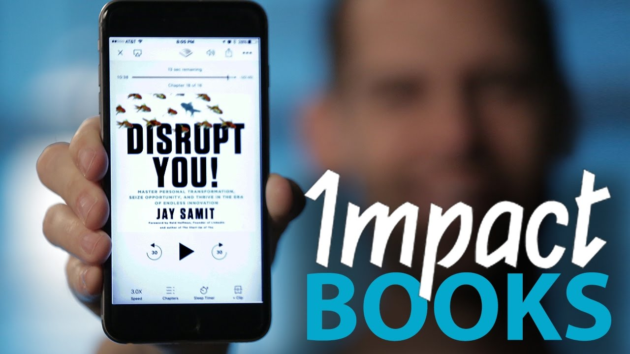 Impact Books: Disrupt You by Jay Samit