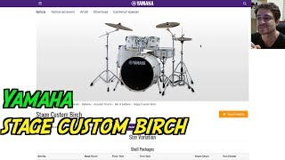 Yamaha stage custom birch - recensione