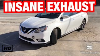 2017 nissan sentra sr 1 8l exhaust w straight pipes