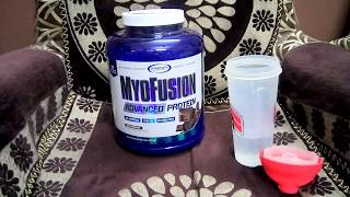 Gaspari Nutrition Myofusion Advanced Protein Taste Test
