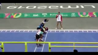 Final 500m+D Juegos Panamericanos Lima 2019
