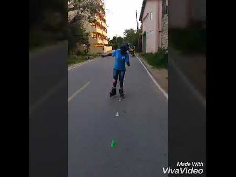 Freestyle/ slalom skating Kenya Africa