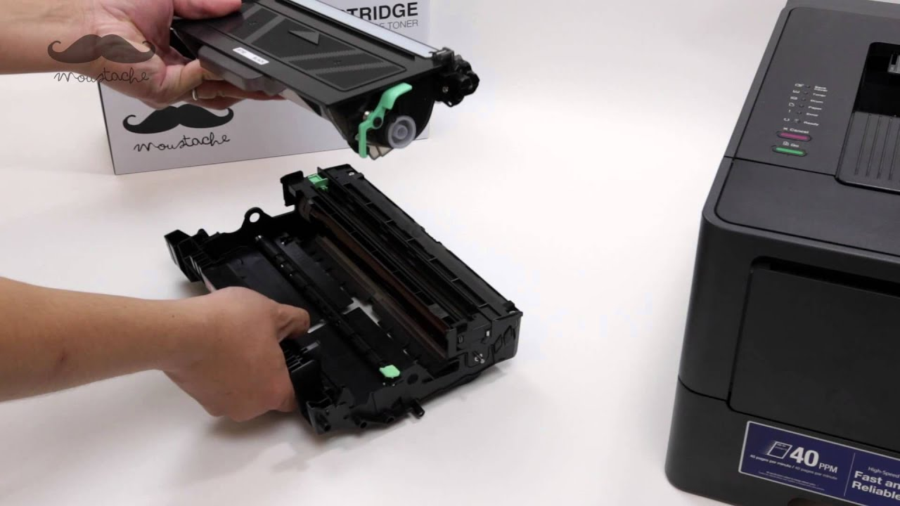 How To Install TN 750 Compatible Toner Cartridges With