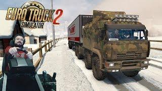 Рейс в Суровой России на Якутск День 4 Euro Truck Simulator 2 + руль Fanatec CSLElite