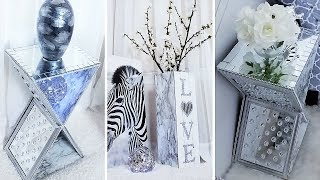 Turn Dollar Tree Frames into a Showroom Style Table and Vase| Home Decor Trend 2019
