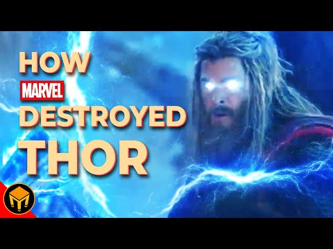 How MARVEL Destroyed THOR | Growth Through Regression