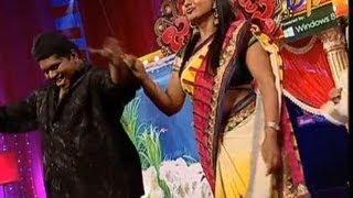Jabardasth - Roller Raghu Performance on 16th May 2013