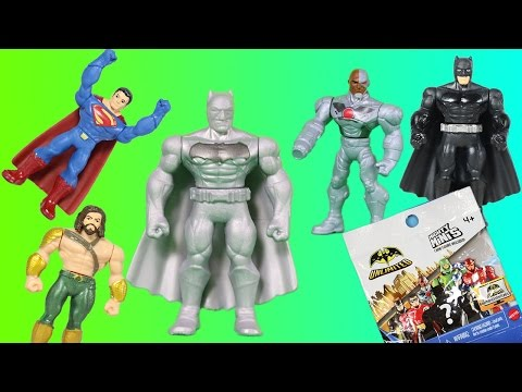 cd6390560ec Смотреть видео Blind Bags Mighty Minis Super Hero Treasure Hunt Batman  Unlimited v Superman + Mystery Figure!! онлайн