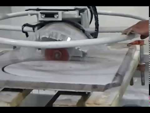 granite sink cut out machine