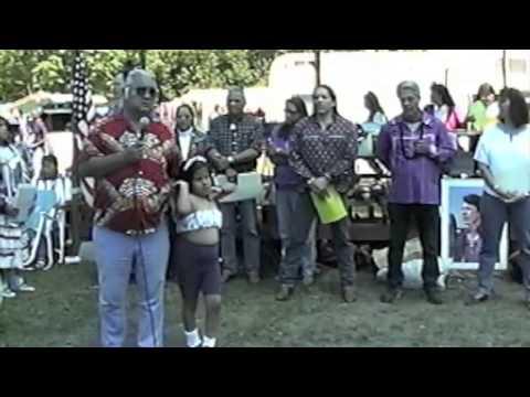 Joe Delacruz Honoring @ 1993 WaHeLut Indian School # 5
