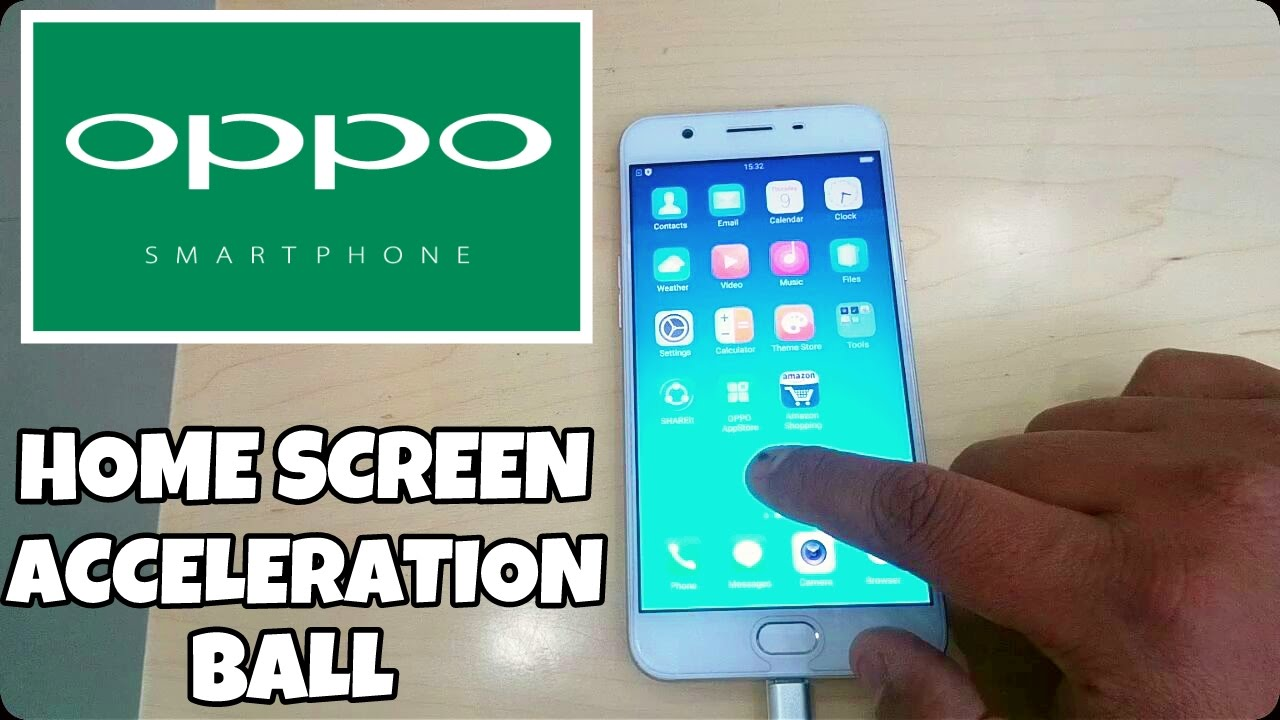 OPPO Phones Acceleration Ball Feature