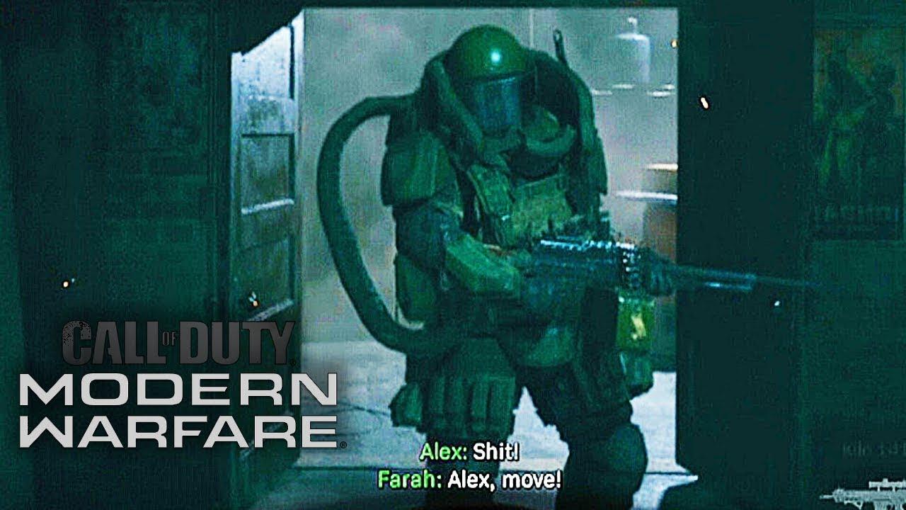 Call Of Duty Modern Warfare Juggernaut Boss Fight Ps4 1080p 60fps Youtube