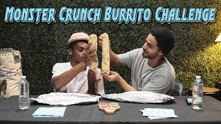 Monster Crunch Burrito Challenge | David Lopez