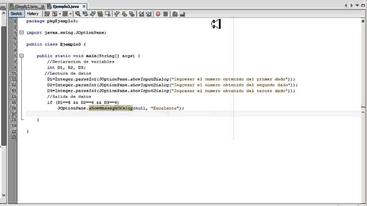 Ejercicios De Programacion En Netbeans 7 4 If Y Else En
