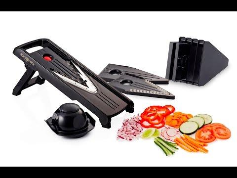 Slice And Cook Premium Mandoline Slicer