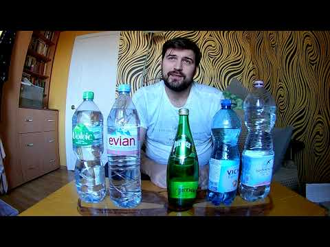 Евиан Vs Перье. Элитная вода