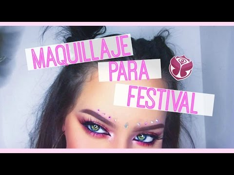 MAQUILLAJE PARA FESTIVAL DE MUSICA! ❤  // MUY SENCILLO!