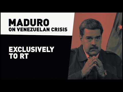 'I won't be remembered as a traitor': Maduro to RT (EXCLUSIVE)
