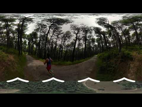 Parnitha - Tatoi-Royal Courts run- VR360 video Experience