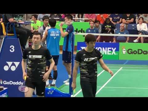 LEE Yong Dae/ YOO Yeon Seong VS LEE Jhe-Huei/ YANG Po-Hsuan Badminton Yonex US Open 2019