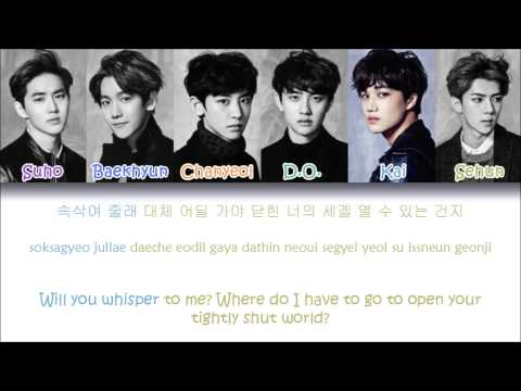 EXO - Hurt (Korean ver.) (Color Coded Han|Rom|Eng Lyrics)