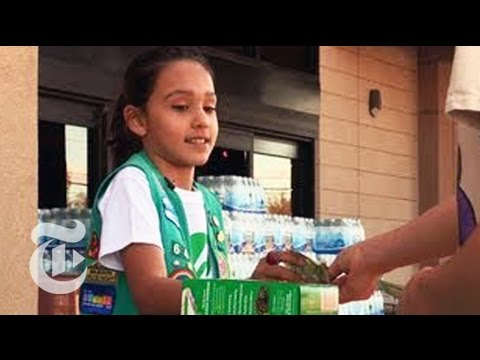 The Cookie Titan of Tucson: A Girl Scout PowerHouse in Action | The New York Times