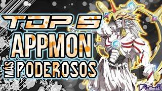 TOP 5 Appmon (Digimon) MÁS Poderosos