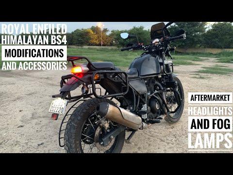 Royal Enfiled Himalayan modified | Modifications On Royal Enfield Himalayan BS4