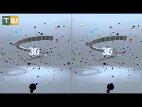 3D - Sem óculos Fique Vesgo e veja em 3D