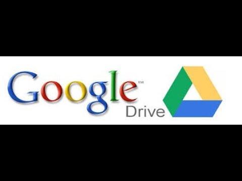 Como acesso ao Google Drive.
