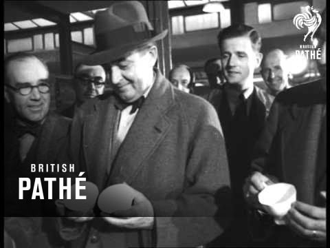 Potteries Visited By Members Of The Anglo-American Productivity Council (1948)
