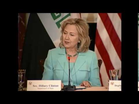 HILLARY IRAQ A BUSINESS OPPORTUNITY