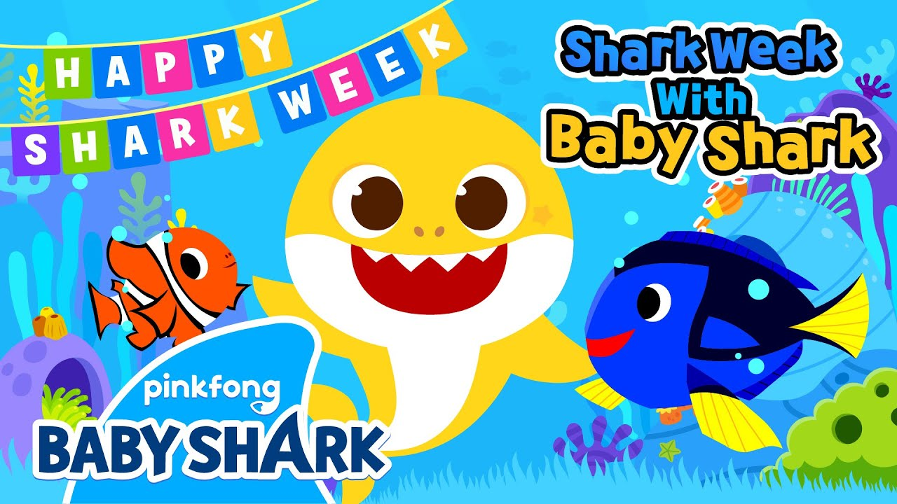 Baby Shark and Undersea Friends   Shark Week with Baby Shark   Pinkfong Songs for Children