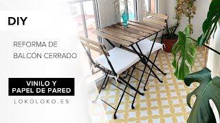 Gambar cover Super Deco DIY. Reforma de un balcón cerrado con vinilo y papel.