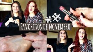 Favoritos de novembro c/ a Patrícia | Kiko, SheIn, Makeup Revolution,...