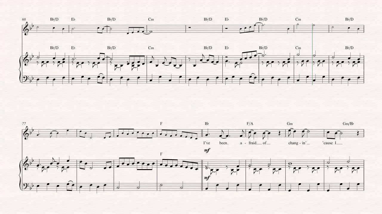 Violin Landslide Fleetwood Mac Sheet Music Chords Vocals